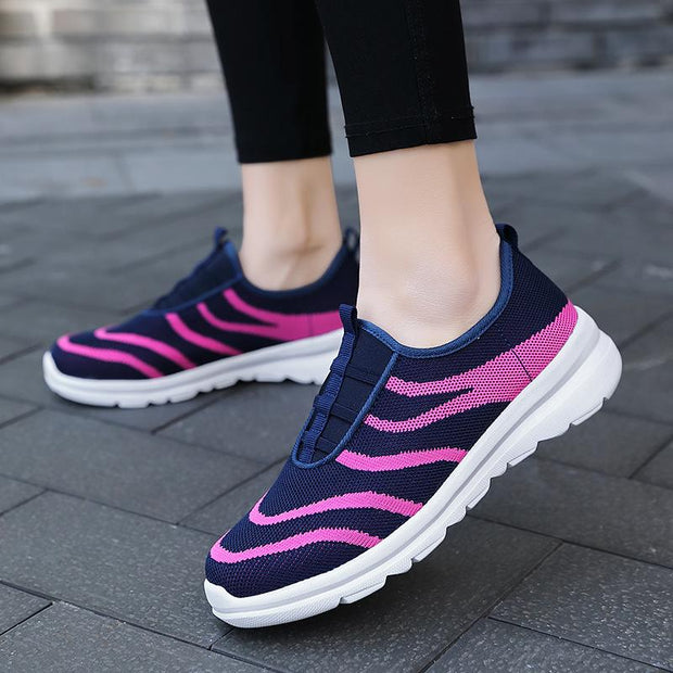 Women's plus size comfortable sneakers