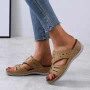 Women's Large Size Casual Cutout Comfortable Slippers