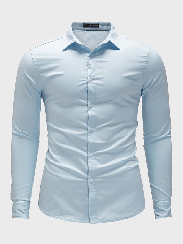Men Button Up Shirt