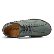 Men's Handmade Microfiber Leather Soft Sole Casual Shoes