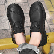 Men's Microfiber Leather Non Slip Casual Business Shoes