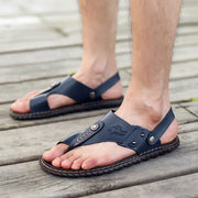 Men's Outdoor Summer Hand-sewn Soft Casual Sandals