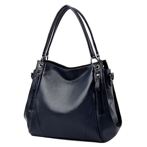 Women's Handbag Fashion Mummy Bag Pure Leather Shoulder Messenger Bag