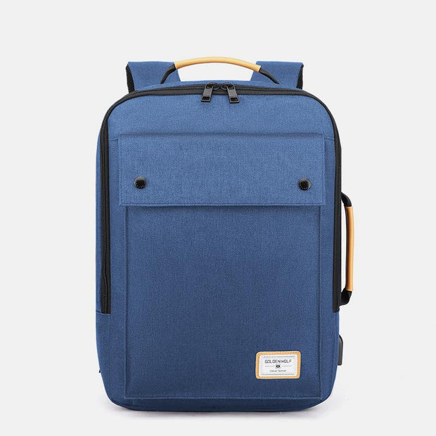 Multi-Purpose Waterproof Laptop Backpack With USB Charging Port