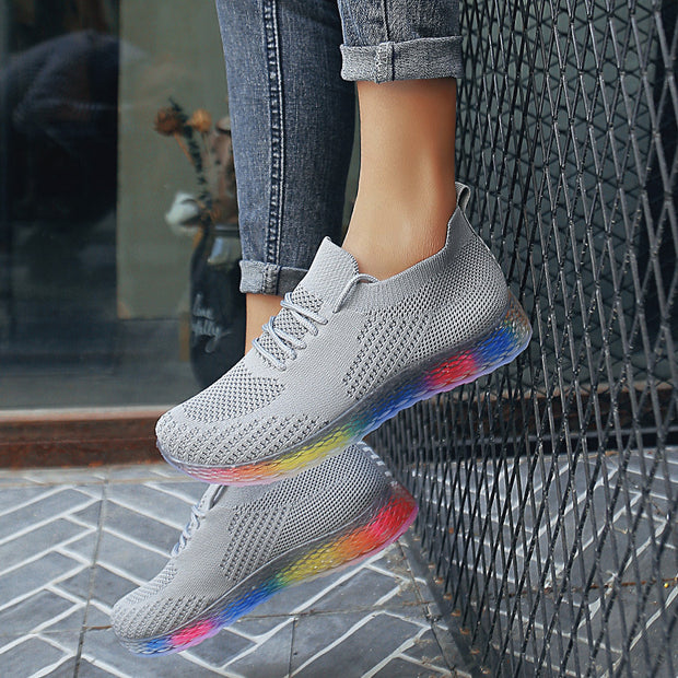 Women's Sock Outdoor Mesh Breathable Trainers Casual Sneakers