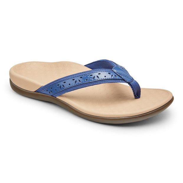 Women's Leather Thong Sandals