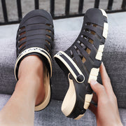 Men's Two Wearing Summer Hole Sandals