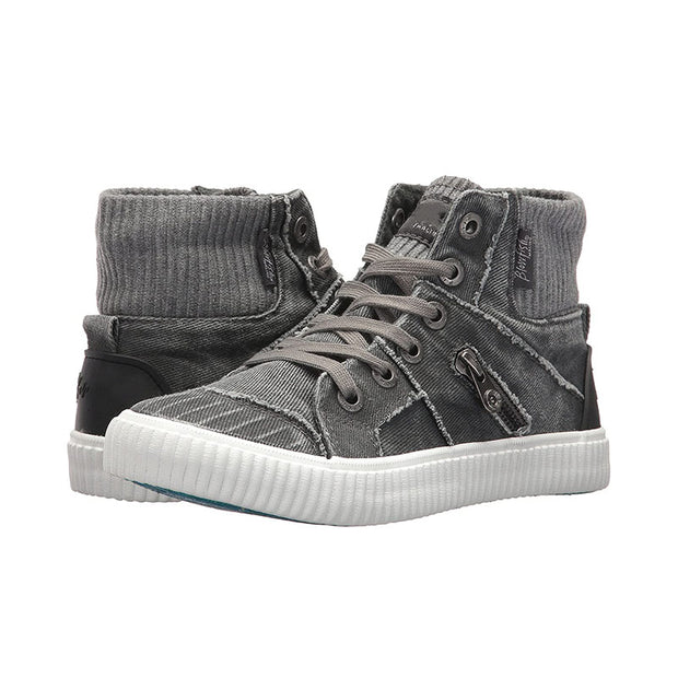 Women's  High Top Canvas Sneaker