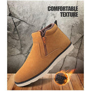 Pearlzone_Plush Snow Sneakers for Men