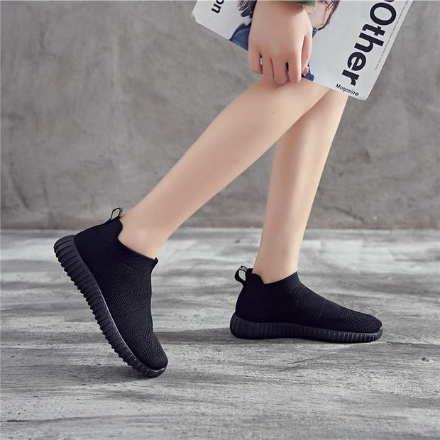 Women's Mesh Breathable Flying Woven Shoes
