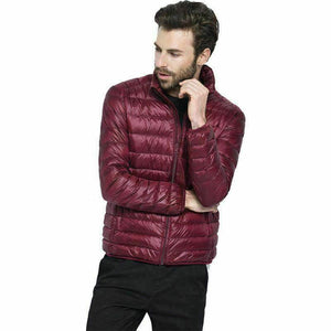 Free shipping worldwide - Ultra Light Packable Down Jacket - Men