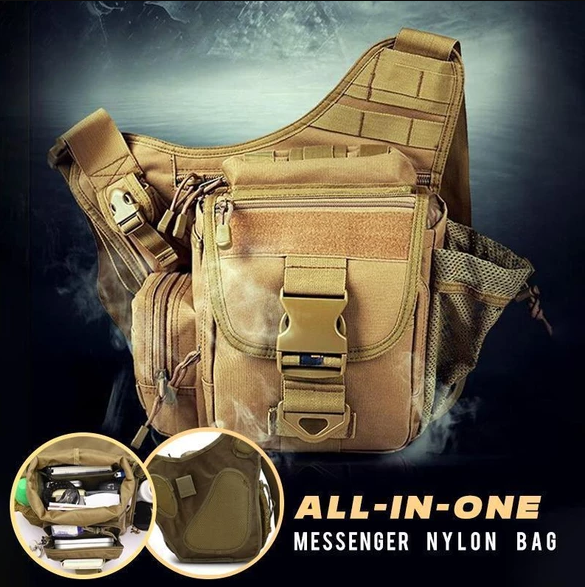 All-in-one Nylon Messenger Tactical Bag