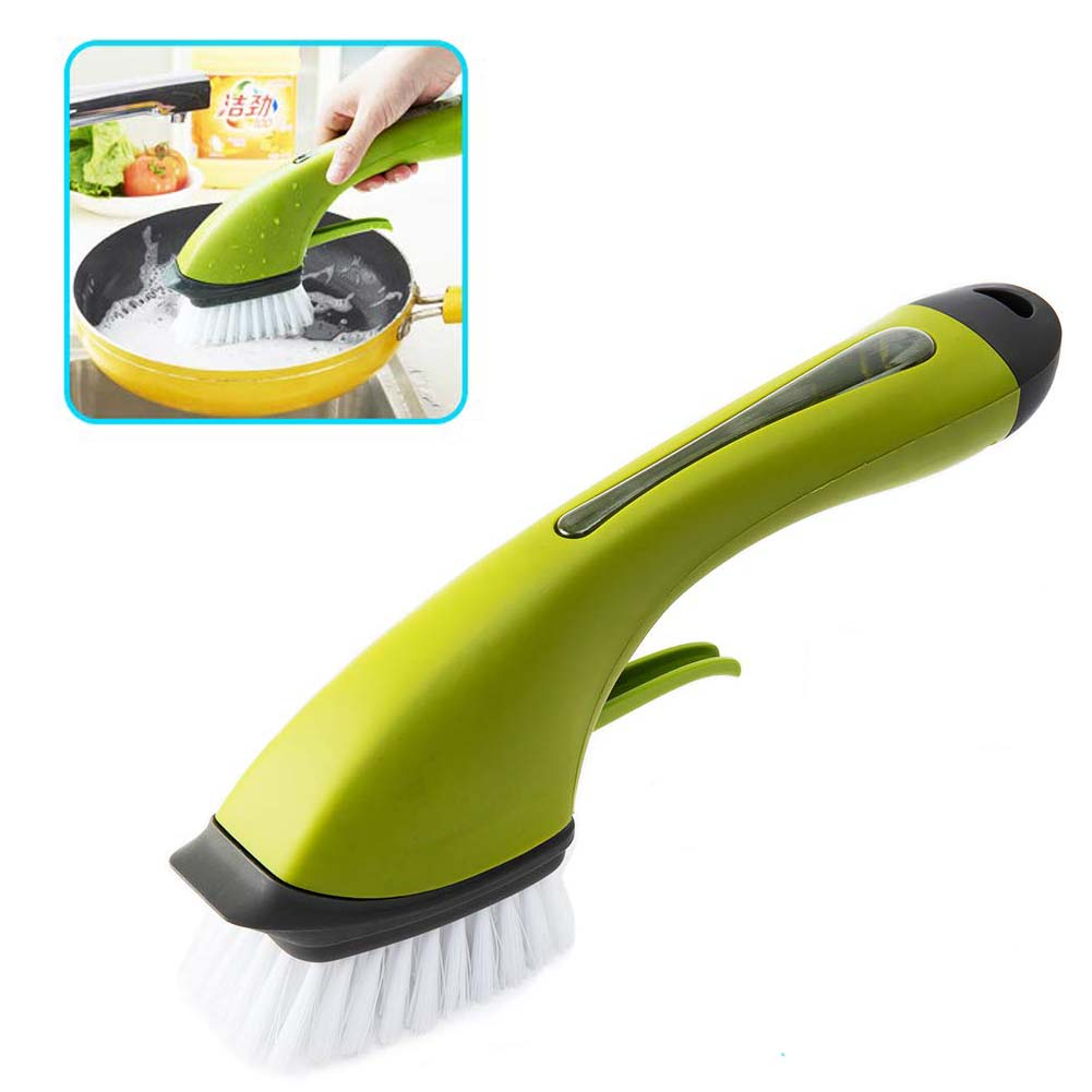 ZEAL LIKE Kitchen Brush with soap Dispensing