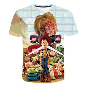 【FREE SHIPPING】The 2019 Newest Chucky Doll Halloween Shirt For Man/Women