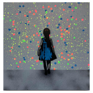Walk on by (Fluorescent) Wood Panel