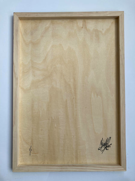 Summer Breeze Wood Panel