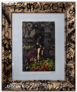 La Primavera Hand Finished Framed