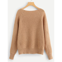 Load image into Gallery viewer, Boat Neck Solid Jumper