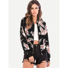 Load image into Gallery viewer, Animal Print Zip Front Jacket
