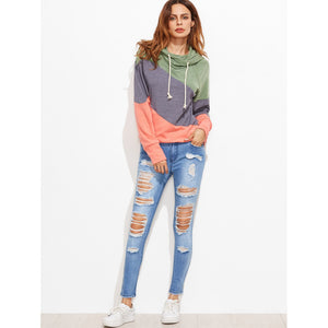 Bleached Distressed Skinny Jeans