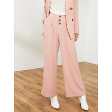 Load image into Gallery viewer, Button Front Wide Leg Pants