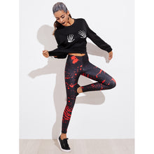 Load image into Gallery viewer, Abstract Print Leggings