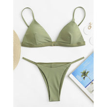 Load image into Gallery viewer, Adjustable Straps Bikini Set