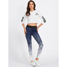 Load image into Gallery viewer, Abstract Print Gym Leggings