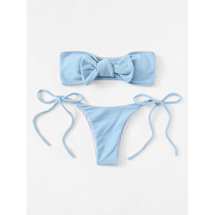 Tie Side Bikini Set