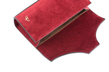 Load image into Gallery viewer, Wine Red Velvet Underwear Clutch - slfb2