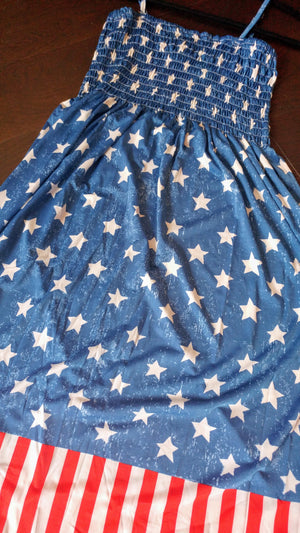 Stars and Stripes Cover Up Dress