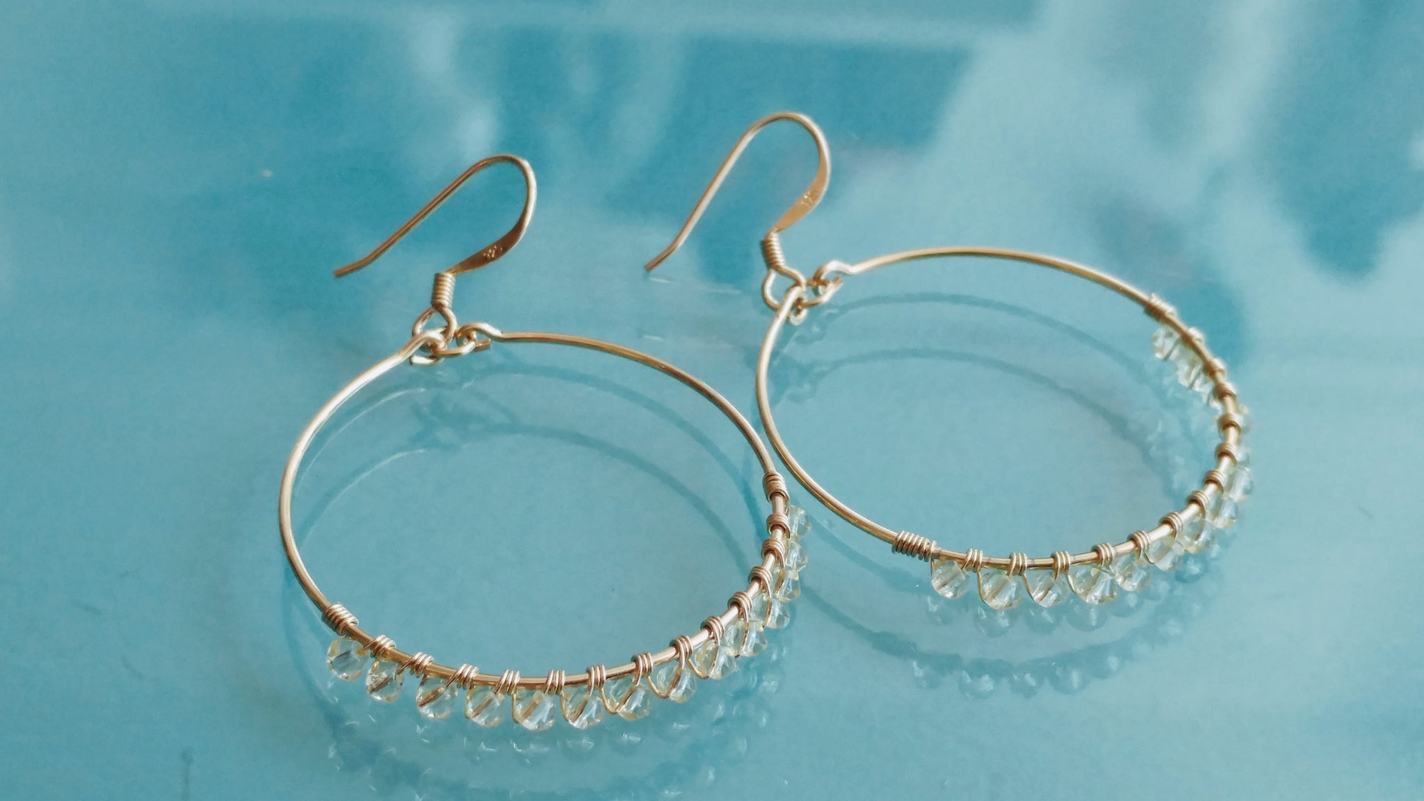 Gold Vermeil Hoop Earrings