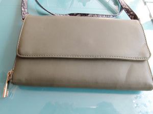 Forest Green Wallet Cross Body Purse