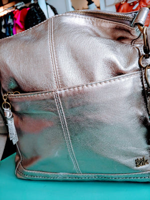 Gold Metallic The Sak Bag