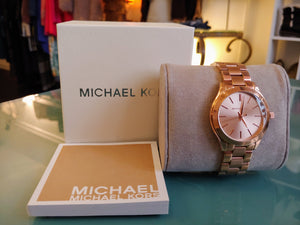 Rose Gold Michael Kors Watch with Box