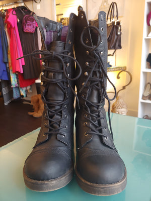 Madden Girl Moto Boots, size 10
