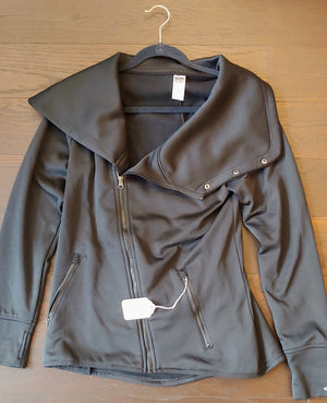 Black Champion Duo Dry Sweater, size L