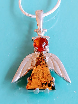 Sterling Angel Pendant
