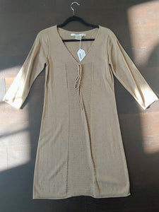 Light Brown/ Tan Max Studio Sweater Dress, size M