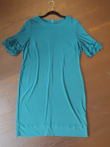 Dark Teal Just Taylor Dress, size 14