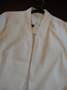 White Perch Blazer Jacket, size 1XL