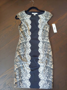 Black & White Wisp Dress, size 4