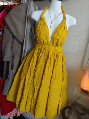 Mustard Yellow Jean Paul Gaultier for Target Dress, size 5