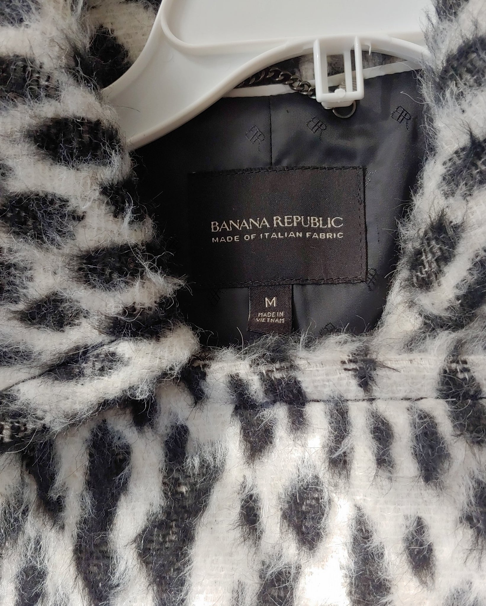 Black & White Banana Republic Jacket