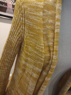 Mustard Yellow Anthropologie Sweater