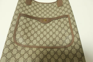 Vintage Gucci Brown Tote Bag