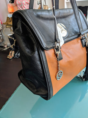 Black and Brown DKNY Bag