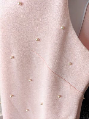 Pink Vintage The Icing Dress with Pearls