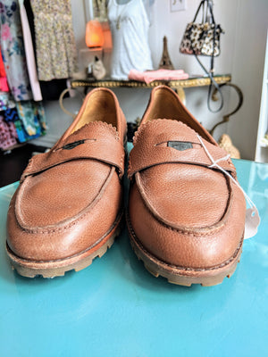 Brown Coach Loafers, size 10