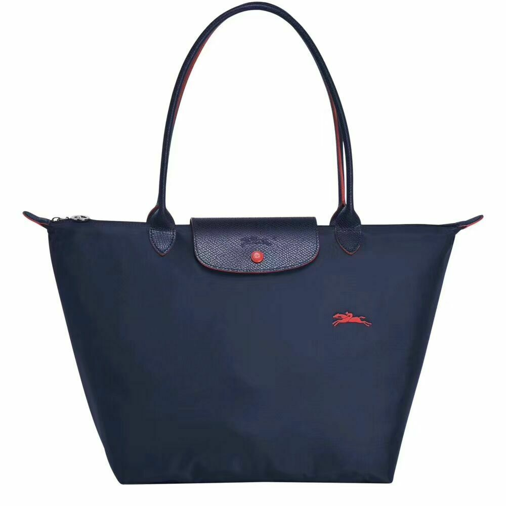 Blue Longchamp Tote Bag